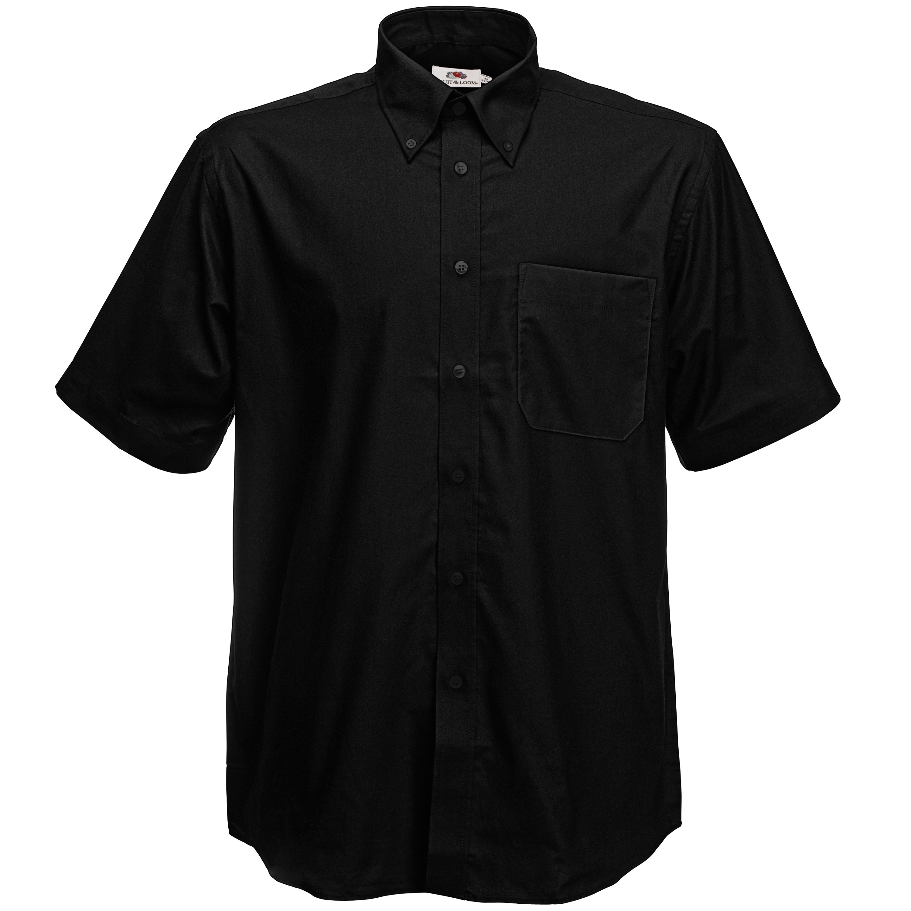 Ss112 oxford short sleeve shirt gdb manufacturing for Black and white short sleeve shirts