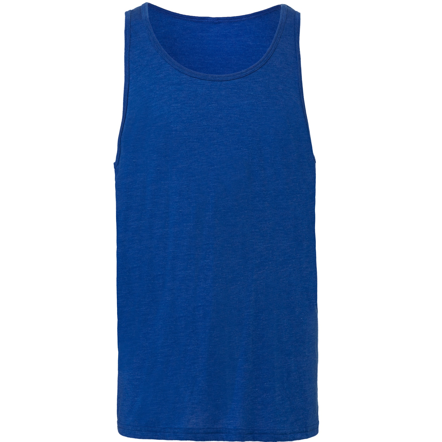 Blue TriBlend The Unisex Jersey Tank X-Small