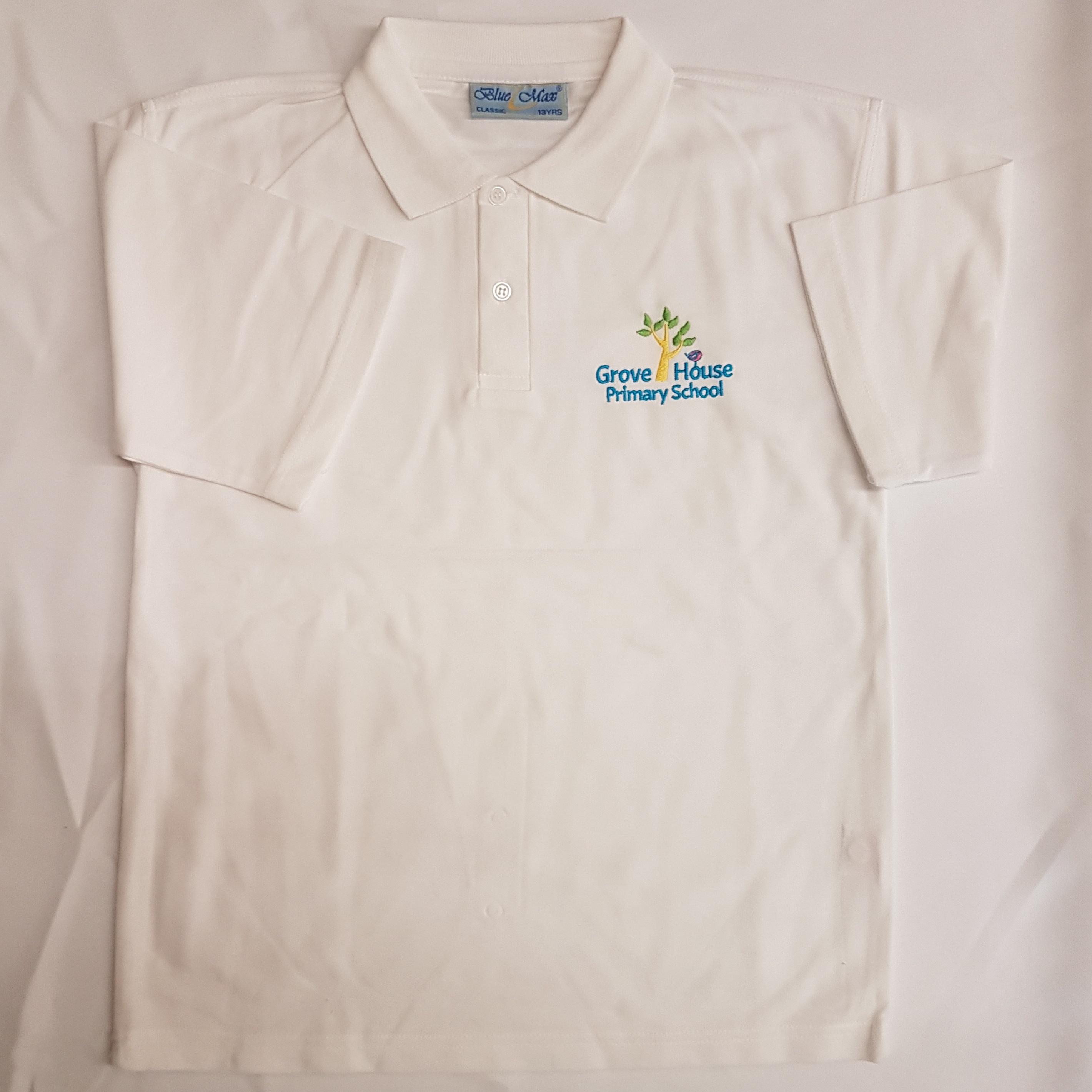 f90aea82e GH3PP White polo shirt (All school) – GDB Manufacturing